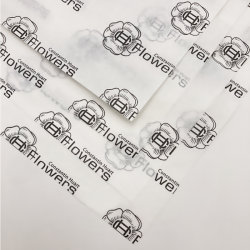 Gepersonaliseerde Bedrukt zijde papier 50x75 CM | ZIJDEPAPIER | FLEXO BEDRUKKING | 3000 VELLEN