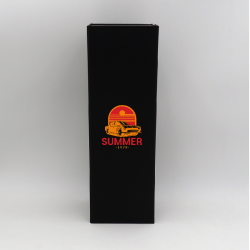 Scatola magnetica Bottlebox (consegna in 15 giorni)12x40,5x12 CM | BOTTLE BOX | SCATOLA PER 1 BOTTIGLIA MAGNUM | STAMPA SERIG...