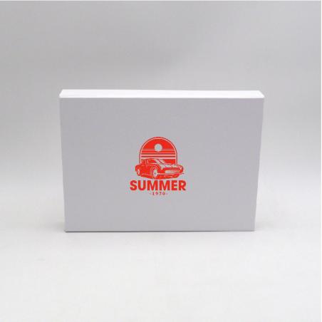 Customized Personalized Magnetic Box Wonderbox 31x22x4 CM | WONDERBOX (EVO) | IMPRESSION EN SÉRIGRAPHIE SUR UNE FACE EN UNE C...