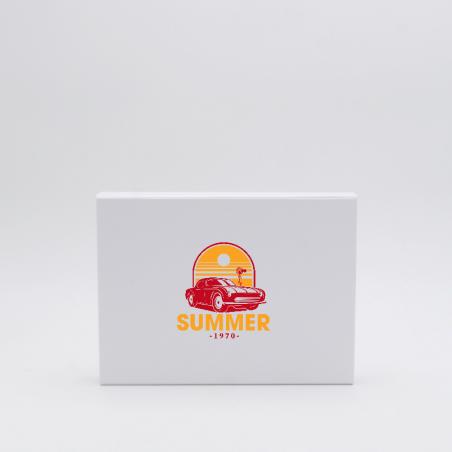 Caja magnética personalizada Wonderbox 22x16x3 CM   WONDERBOX (EVO)   IMPRESIÓN SERIGRÁFICA DE UN LADO EN DOS COLORES