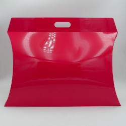 Pillow box (delivery in 15 days)55x38x10 CM | PILLOW GIFT BOX | SCREEN PRINTING ON ONE SIDE IN TWO COLOURS