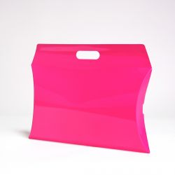 Pillow box (delivery in 15 days)41x24x7 CM | PILLOW GIFT BOX | SCREEN PRINTING ON ONE SIDE IN TWO COLOURS