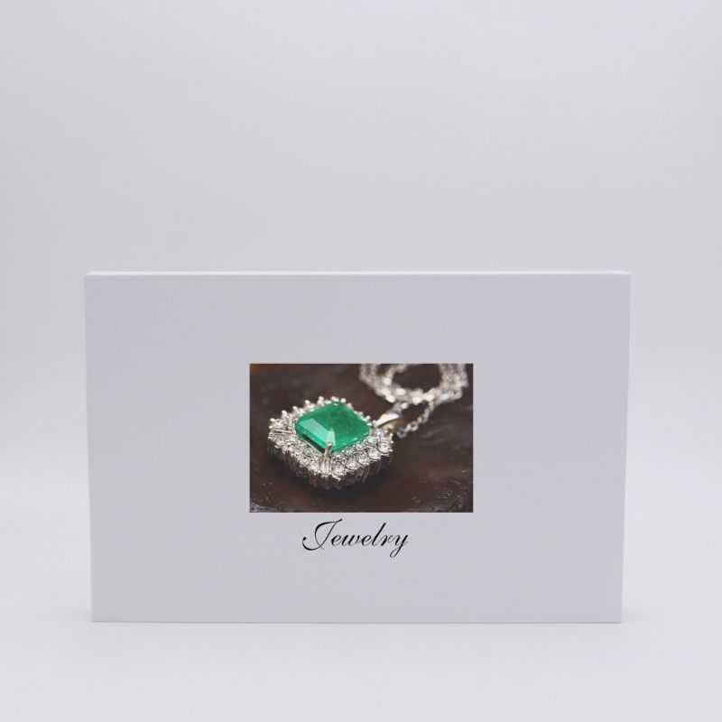 Scatola magnetica personalizzata Hingbox 35x23x2 CM | HINGBOX | STAMPA DIGITALE SU AREA PREDEFINITA