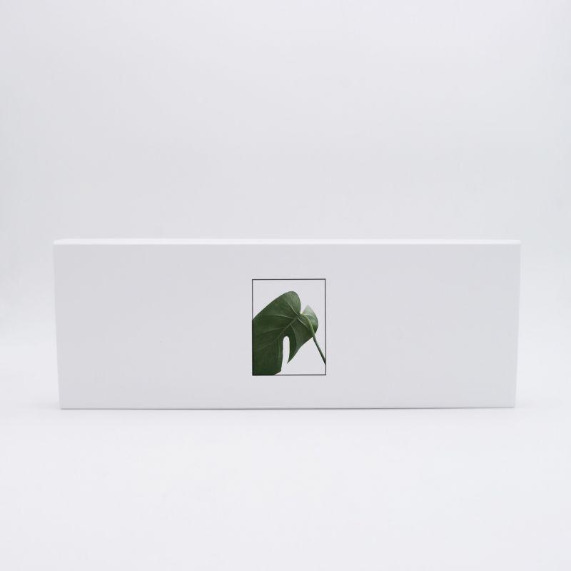 Scatola magnetica personalizzata Flatbox 40x14x3 CM | EVOBOX | STAMPA DIGITALE SU AREA PREDEFINITA