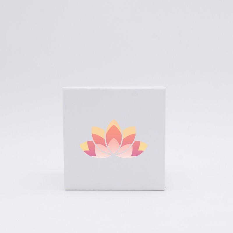 Boîte aimantée personnalisée Cubox 22x22x22 CM | CUBOX |IMPRESSION NUMERIQUE ZONE PRÉDÉFINIE