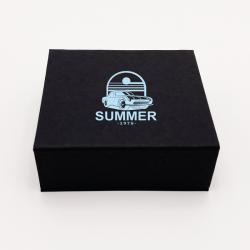 Scatola magnetica personalizzata Sweetbox 10x9x3,5 CM | SWEET BOX | IMPRESSION EN SÉRIGRAPHIE SUR UNE FACE EN UNE COULEUR