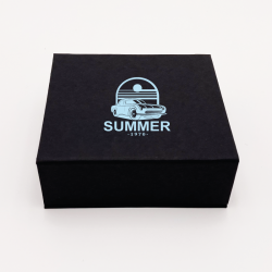 Customized Personalized Magnetic Box Sweetbox 17x16,5x3 CM | SWEET BOX | SCREEN PRINTING ON ONE SIDE IN ONE COLOUR