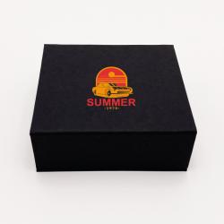 Scatola magnetica personalizzata Sweetbox 10x9x3,5 CM | SWEET BOX| STAMPA SERIGRAFICA SU UN LATO IN DUE COLORI