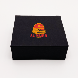 Customized Personalized Magnetic Box Sweetbox 17x16,5x3 CM | SWEET BOX | SCREEN PRINTING ON ONE SIDE IN TWO COLOURS