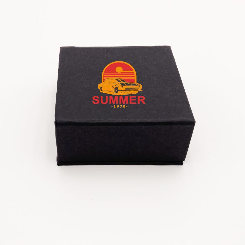 Petite boîte aimantée personnalisée pouvant contenir des friandises et du chocolat