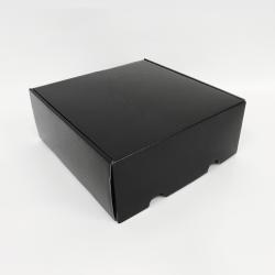 Envase postal laminado 41x41x20,8 CM | POSTPACK PLASTIFICADO | IMPRESIÓN SERIGRÁFICA DE UN LADO EN DOS COLORES