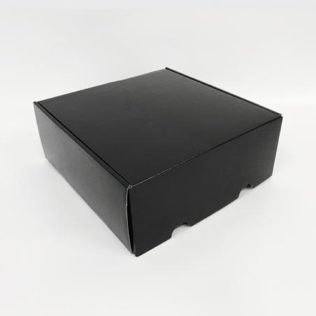 Customized Personalized Shipping Box Postpack 41x41x20,8 CM | VERSTÄRKTES POSTPACK | SEIDENSCHIRMDRUCK AUF EINER SEITE IN ZWE...