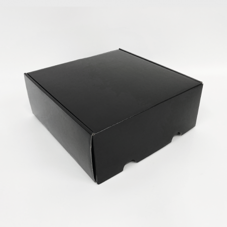 Gepersonaliseerde Postpack geplastificeerde verzenddoos 41x41x20,8 CM | POSTPACK GEPLASTIFICEERDE | ZEEFBEDRUKKING OP 1 ZIJDE...