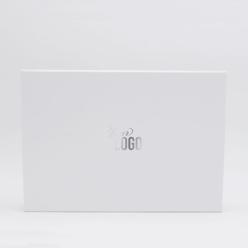 Customized Personalized Magnetic Box Flatbox 33x22x10 CM | WONDERBOX | STANDARD PAPER | HOT FOIL STAMPING