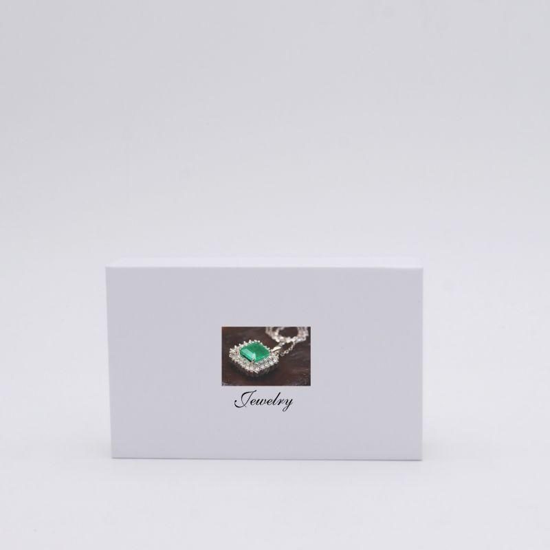 Boîte aimantée personnalisable Hingbox 12x7x2 CM | HINGBOX | IMPRESSION NUMERIQUE ZONE PRÉDÉFINIE