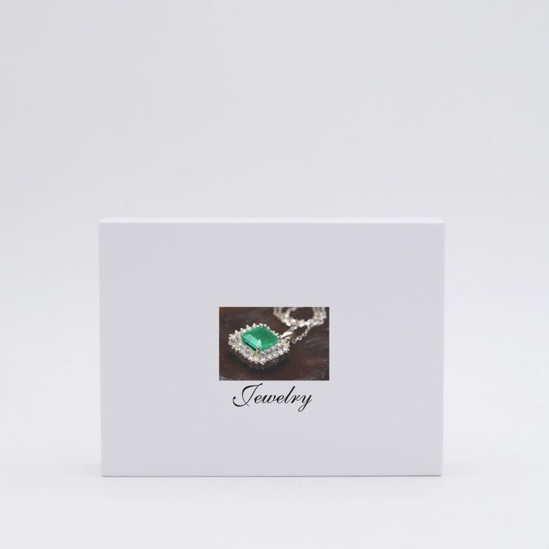 Boîte aimantée personnalisée Hingbox 21x15x2 CM | HINGBOX | IMPRESSION NUMERIQUE ZONE PRÉDÉFINIE