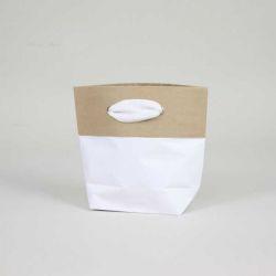 Shopping bag Cement (consegna in 15 giorni)15x8x20 CM   SHOPPING BAG CEMENT PREMIUM   STAMPA SERIGRAFICA SU DUE LATI IN DUE C...
