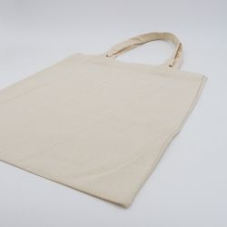 Customized Personalized reusable cotton bag 50x50 CM | TOTE COTTON BAG | SCREEN PRINTING ON ONE SIDE IN TWO COLOURS
