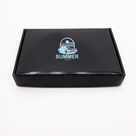 Customized Personalized Shipping Box Postpack 23x17x3,8 CM | LAMINATED POSTPACK | SCREEN PRINTING ON ONE SIDE IN ONE COLOUR