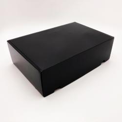Customized Laminated Postpack 34x24x10,5 CM   POSTPACK PLASTIFIÉ   IMPRESSION EN SÉRIGRAPHIE SUR UNE FACE EN DEUX COULEURS