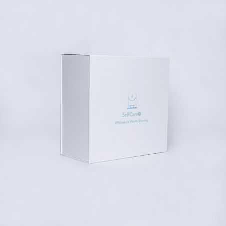 Caja magnética personalizada Wonderbox 40x40x20 CM | WONDERBOX (EVO) | ZEEFBEDRUKKING OP 1 ZIJDE IN 2 KLEUREN