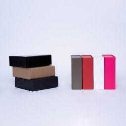 Scatola magnetica personalizzata Flatbox 15x15x5 CM | WONDERBOX | CARTA STANDARD | STAMPA A CALDO