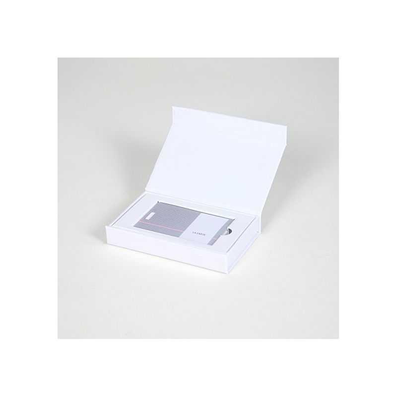 Scatola magnetica personalizzata Palace 12x7x2 CM | PORTA CARD | STAMPA DIGITALE SU AREA PREDEFINITA