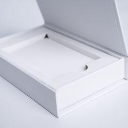 Boîte aimantée personnalisée Palace 12x7x2 CM   PORTE CARTES   IMPRESSION NUMERIQUE ZONE PRÉDÉFINIE