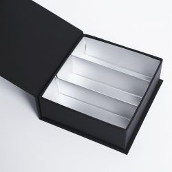 Customized Personalized Magnetic Box Sweetbox 10x9x3,5 CM   SWEET BOX   HOT FOIL STAMPING