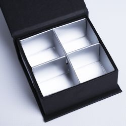 Customized Personalized Magnetic Box Sweetbox 7x7x3 CM | SWEET BOX | HOT FOIL STAMPING