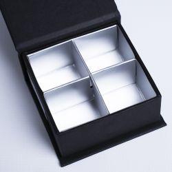 Gepersonaliseerde Gepersonaliseerde magnestische geschenkdoos Sweetbox 7x7x3 CM | SWEET BOX | WARMTEDRUK | CENTURYPRINT