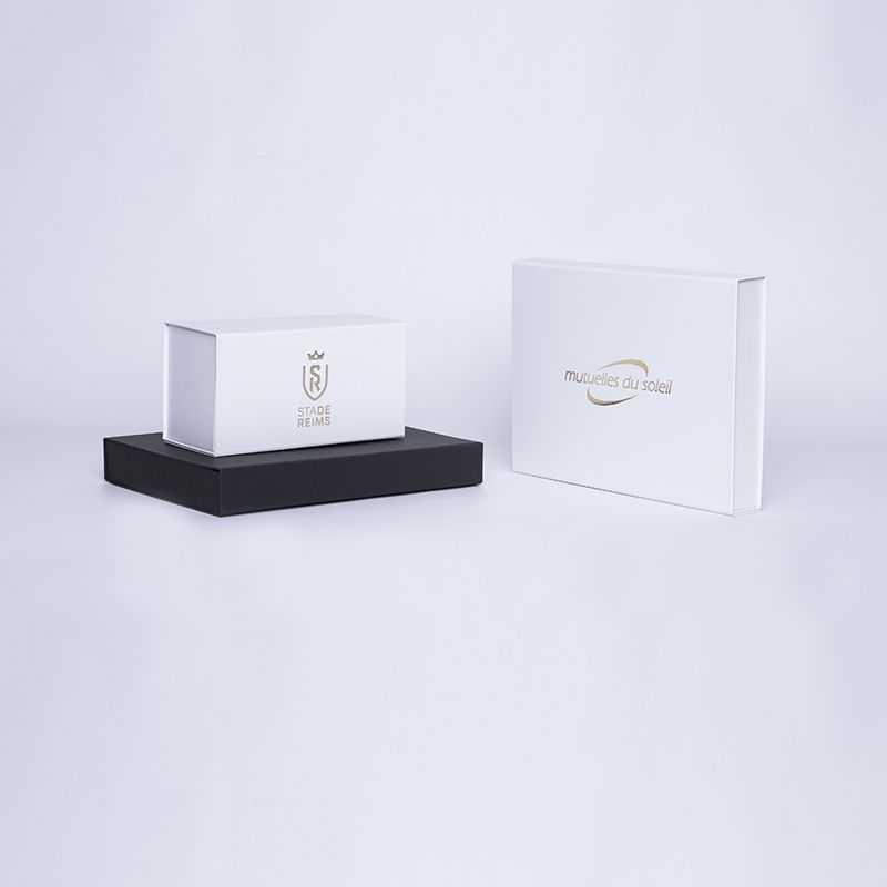Caja magnética personalizada Wonderbox 22x16x3 CM | WONDERBOX (EVO) | IMPRESSION À CHAUD