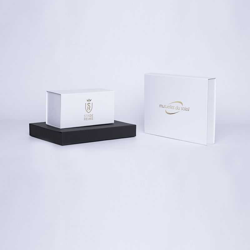 Customized Personalized Magnetic Box Wonderbox 22x16x3 CM | WONDERBOX (EVO) | HOT FOIL STAMPING