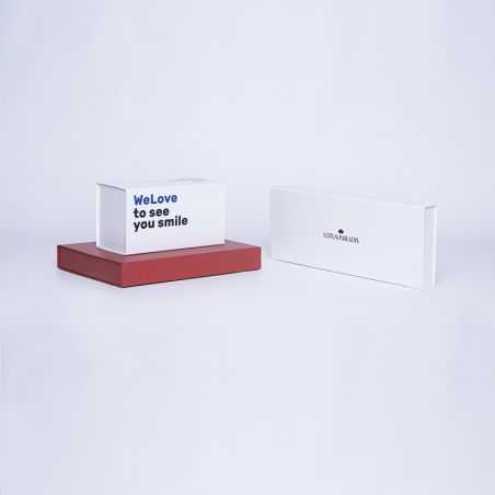 Gepersonaliseerde Gepersonaliseerde magnetische geschenkdoos Wonderbox 22x16x3 CM | WONDERBOX (EVO) | DIGITALE BEDRUKKING OP ...