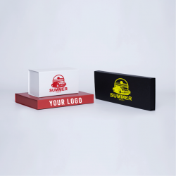 Customized Personalized Magnetic Box Wonderbox 22x16x3 CM | WONDERBOX (EVO) | SCREEN PRINTING ON ONE SIDE IN ONE COLOUR