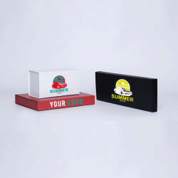 Customized Personalized Magnetic Box Wonderbox 22x16x3 CM | WONDERBOX (EVO) | SCREEN PRINTING ON ONE SIDE IN TWO COLOURS