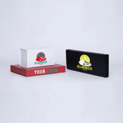Gepersonaliseerde Gepersonaliseerde magnestische geschenkdoos Wonderbox 31x22x4 CM   WONDERBOX (EVO)   ZEEFBEDRUKKING OP 1 ZI...