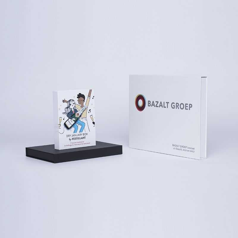 Caja magnética personalizada Hingbox 12x7x3 cm | CAJA HINGBOX | IMPRESIÓN DIGITAL EN ÁREA PREDEFINIDA