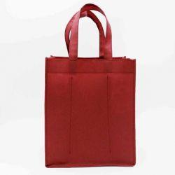 Customized Sac en tissu non tissé personnalisé 28x20x33 CM | NON-WOVEN TNT LUS BOTTLE BAG | SCREEN PRINTING ON ONE SIDE IN ON...