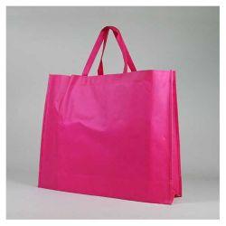 Customized Sac en tissu non tissé personnalisé 60x15x50 CM   NON-WOVEN TNT LUS BAG  SCREEN PRINTING ON TWO SIDES IN ONE COLOR