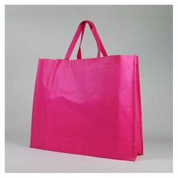 Customized Sac en tissu non tissé personnalisé 60x15x50 CM   NON-WOVEN TNT LUS BAG  SCREEN PRINTING ON ONE SIDE IN TWO COLORS