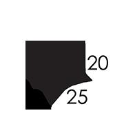 25x11x20 CM
