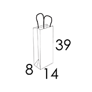 14 x 8 x 39 cm (vordefinierter Bereich 1/2 Farben)