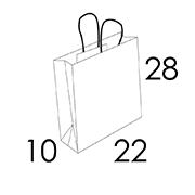 22x10x28 CM (Predefined area 1/2 colors)