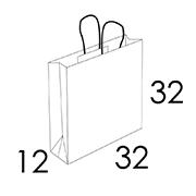 32 x 12 x 32 cm (vordefinierter Bereich 1/2 Farben)