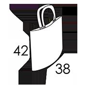 38 x 42 cm