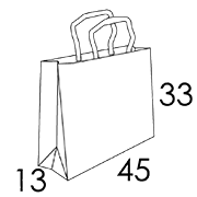 45x13x33 CM