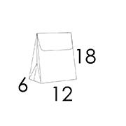 12 x 6 x 18 cm