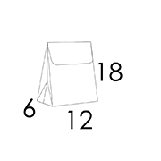 12x6x18 CM