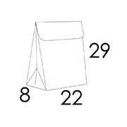 22x8x29 CM